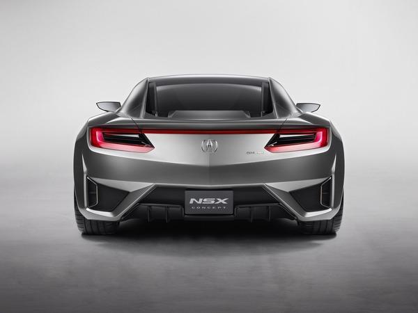Acura envisage une petite NSX
