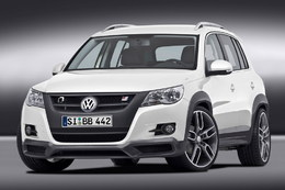 VW Tiguan par B&B : Bad and Brake fast