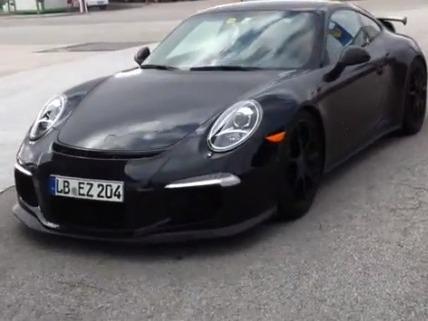 [vidéo] La Porsche 911 GT3 à découvert