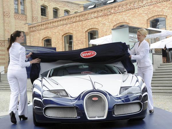 Bugatti Veyron Grand Sport L'Or blanc: la quintessence de la décadence