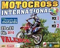 Motocross internationale de Valence, les 20 et 21 février 2010