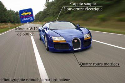 """Une """"petite"""" Bugatti pour 2015 ! (Février 2007)"""