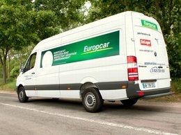 Utilitaire moins polluant : Europcar adopte les Mercedes-Benz Sprinter EEV