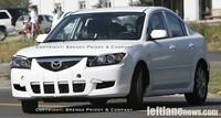 Future Mazda3 : la mule !