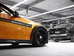 La BMW MH3 V8 RS Manhart Racing en vidéo