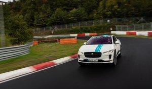 """Le Jaguar I-Pace devient le premier """"ring taxi"""" électrique"""