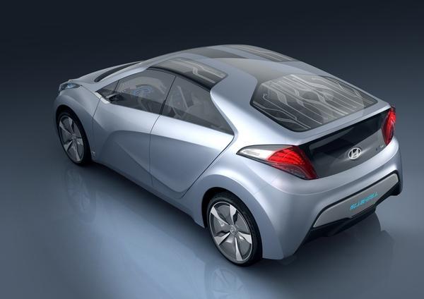 Seoul 2009 : concept Hyundai Blue-Will Hybrid, une Prius qui a de la gueule ?