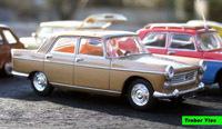 Miniature : 1/43ème - Peugeot 404 Super luxe