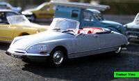 Miniature : 1/43ème - Citroën DS21 cabriolet