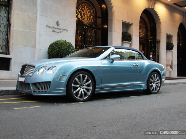 Photos du jour : Bentley Continental GT Speed Mansory
