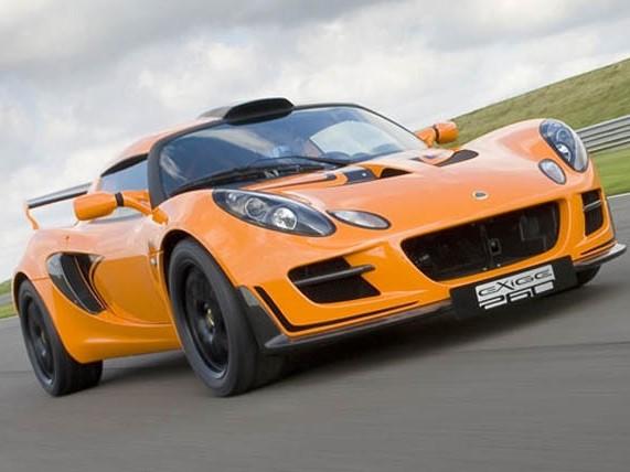 Lotus prépare une Exige pour le rallye