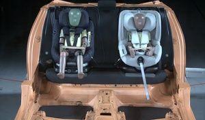 Test des sièges pour enfants par le TCS: deux modèles à éviter