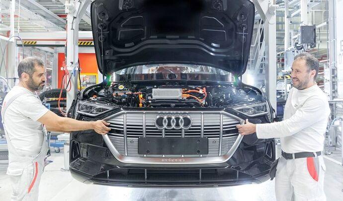 Audi prépare un Q8 e-tron