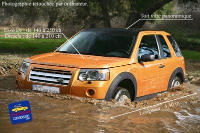 Un Baby Land Rover est programmé pour 2009