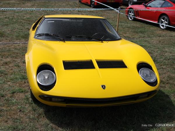 Photos du jour : Lamborghini Miura P400 (Le Mans Classic)