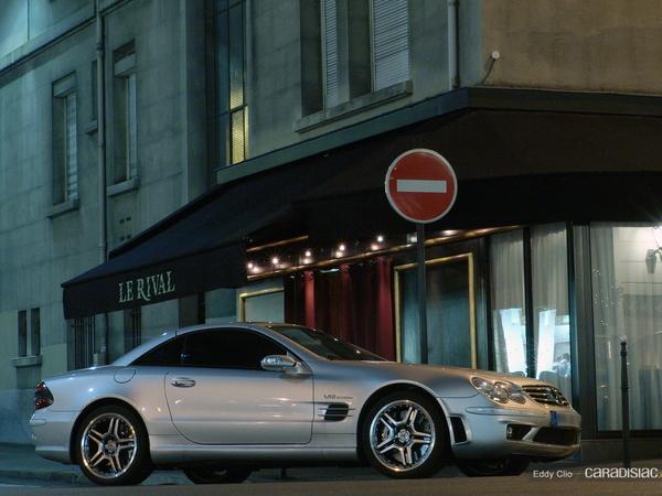 Photos du jour : Mercedes Sl 65 AMG