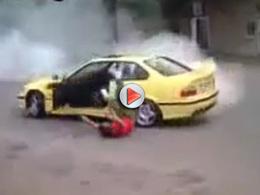 [Vidéo] Autre FAIL retentissant de drift en BMW
