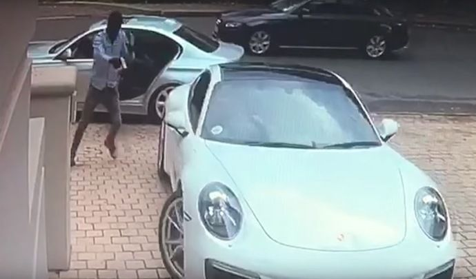 Un propriétaire de 911 évite le vol de sa Porsche