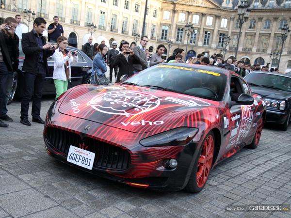 Photo du jour : Maserati GranTurismo S (Gumball)