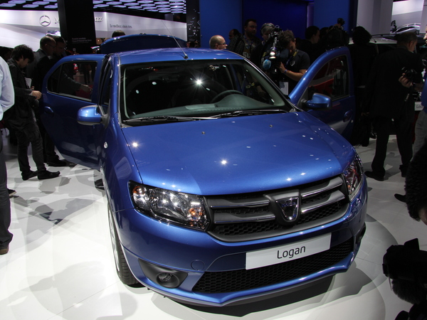 Vidéo en direct du Mondial 2012 - Dacia Logan 2 : best seller