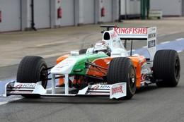 F1 : Force India fait modifier la liste officielle des engagés