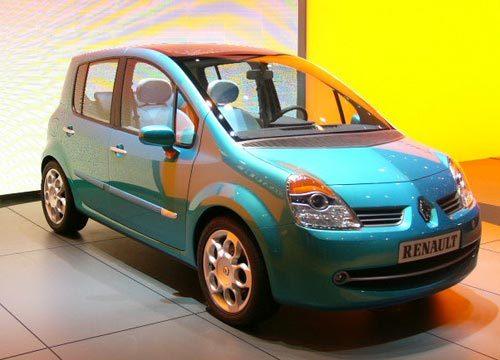 Renault Modus : modulaire et aérienne