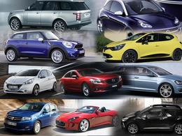 Votez pour votre star du Mondial 2012 : 10 nouveaux modèles en compétition