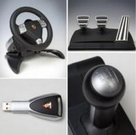 Jeu vidéo : un volant Porsche pour PS3 et PC
