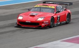 Officiel GT FFSA : Loeb sur une Ferrari 550 Maranello Solution F à Nogaro