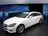 Vidéo en direct de Paris 2012 - Mercedes CLS Shooting Brake : déjà vu