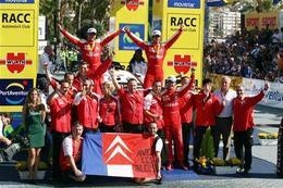 WRC Catalogne: un, dos, tres pour Loeb