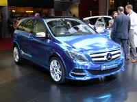 En direct de Paris 2012 - Mercedes Classe B Electric Concept