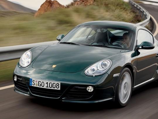 Une Porsche Cayman Clubsport pour le salon de Los Angeles?