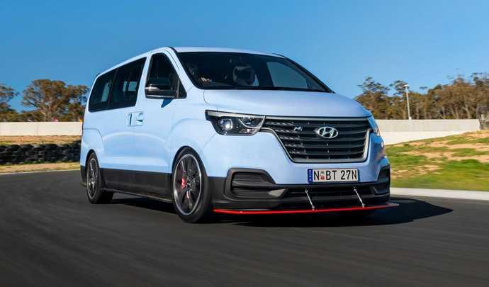 Hyundai a développé un grand monospace sportif N