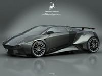 Lamborghini Embolado Concept by Luca Serafini