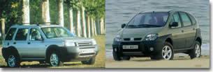 Land-Rover Freelander Di Contre Renault Scénic RX4 DCi