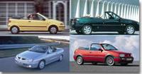 Quatre cabriolets d'occasion de 26 000 à 99 000 F