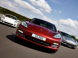 Porsche Panamera : déjà 25.000 produites