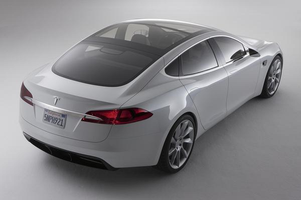 Tesla Model S : c'est elle !