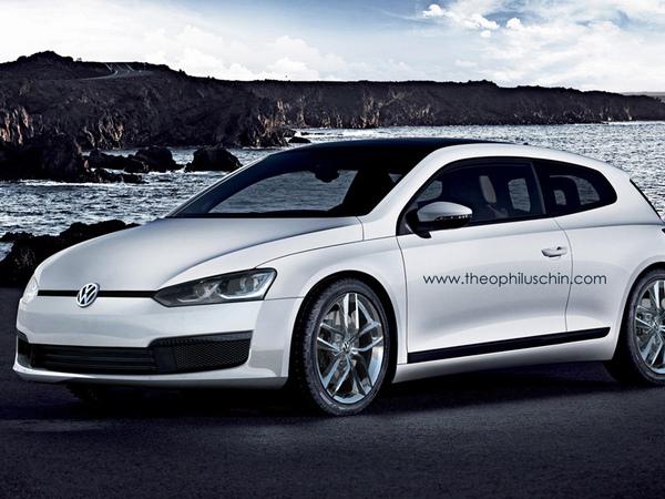 Volkswagen Scirocco restylé : comme ça ?