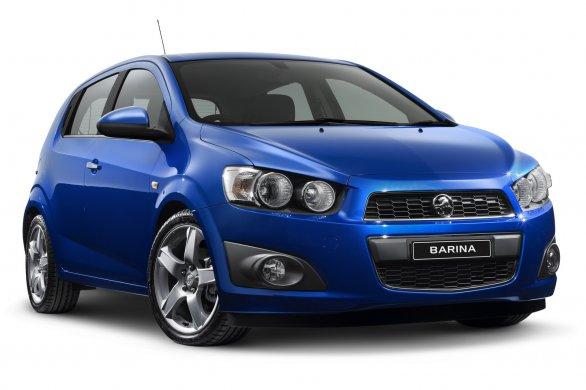 Nouvelles Holden Barina Et Colorado