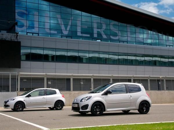 Pas pour nous : les séries limitées Renault Twingo R.S 133 et Clio R.S 200 Silverstone GP Edition