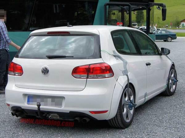 Les futures VW Golf 7 GTi et R déjà en test