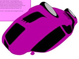 """(Minuit chicanes) """"Cette vie c'est quoi sa vie en rêve, rêve — cette voiture rose en campagne n'existe pas."""""""