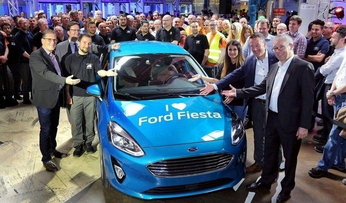 Nouvelle Ford Fiesta: la production est lancée