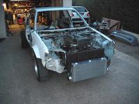 Projet fou : une Peugeot 205 à moteur de Toyota Supra