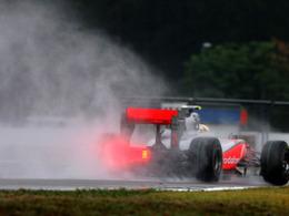 F1 - Hongrie : pluie le week-end, mais course au sec