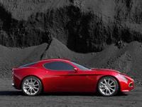 L'Alfa Romeo 8C Competizione au Mondial
