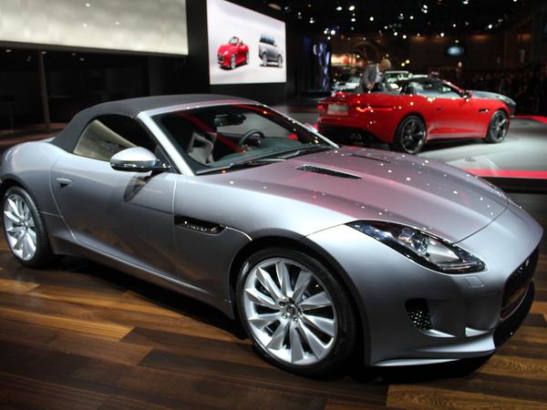 Vidéo en direct du Mondial 2012 : Jaguar F-Type, digne héritière de la glorieuse Type E