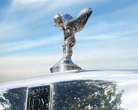 Rolls Royce à pleine charge